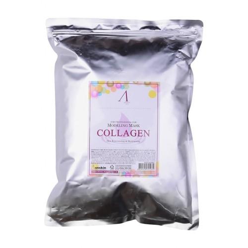 Альгинатная маска Anskin Collagen Modeling Mask с коллагеном, укрепляющая, 1 кг