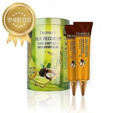 Восстанавливающая сыворотка для волос Deoproce Silk Recovery Hair Ampoule,10 х 10 мл