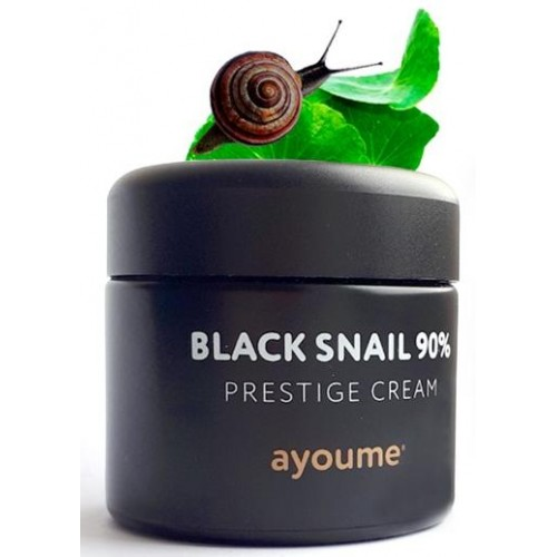 Крем для лица AYOUME Black Snail Prestige Cream с муцином черной улитки, 70 мл