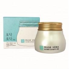 Крем для лица Deoproce Muse Vera Cheer Up Cream с чайным деревом, 120 гр.