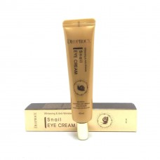 Крем для глаз Deoproce Whitening And Anti-Wrinkle Snail Eye Cream с муцином улитки, 40 мл