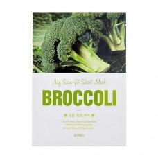 Тканевая маска для лица A'Pieu My Skin-Fit Sheet Mask Broccoli с экстрактом брокколи, 25 мл