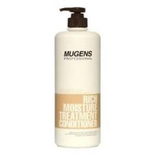 Кондиционер для волос увлажняющий mugens rich moisture treatment conditioner, 1 л.