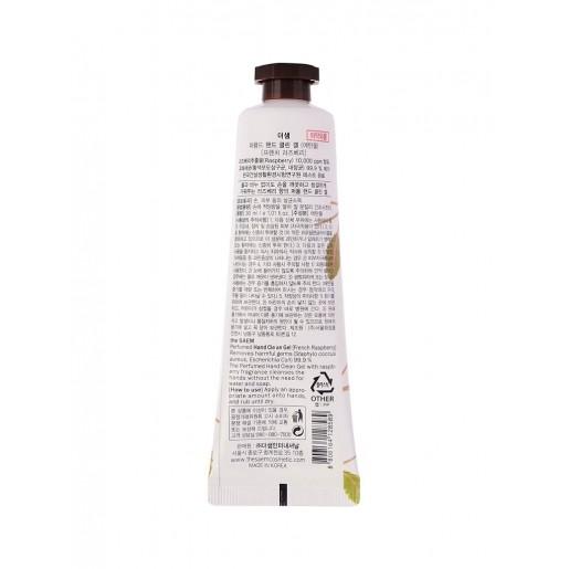 Крем-гель для рук The Saem Perfumed Hand Clean Gel French Raspberry, 30 мл