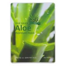 Маска для лица Real Sauce Aloe Moisture Mask с экстрактом алоэ, 22 мл