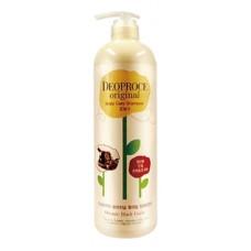 Шампунь-бальзам для волос Deoproce Original Scalp Care 2-in-1 Shampoo Black Garlic, 1000 мл