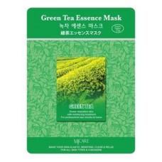 Маска тканевая зеленый чай Green Tea Essence Mask, 23 гр.