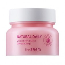 Маска для лица The Saem Natural Daily Original Rose Mask с лепестками роз, 100 гр.