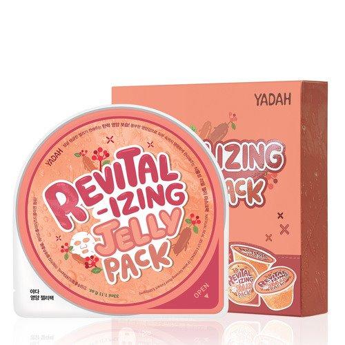 Маска-патч для лица Yadah Revitalizing Jelly Pack, 33 мл