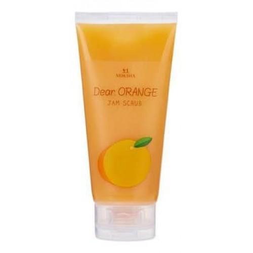Скраб для лица цитрус Moksha Dear Orange Jam Scrub, 150 мл