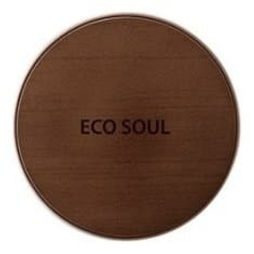 Тональная основа Eco Soul Bounce Cream Foundation Light Beige, 15 гр.