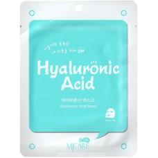 Тканевая маска для лица Mijin MJ on Hyaluronic Acid Mask Pack с гиалуроновой кислотой, 22 гр.