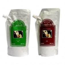 Система для ламинирования волос Lombok Original set Dark Brown, 500 мл*2