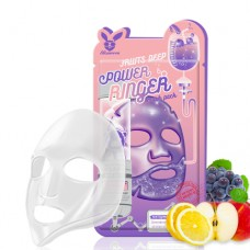 Тканевая маска для лица Elizavecca Fruits Deep Power Ring Mask Pack, 23 мл