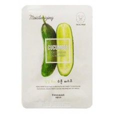 Маска для лица увлажняющая Kwailnara Cucumber Hydrating Facial Mask, 23 мл