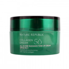Крем для лица Nature Republic Collagen Dream 50 All in One Radiance Tone Up Cream с коллагеном, 50 мл