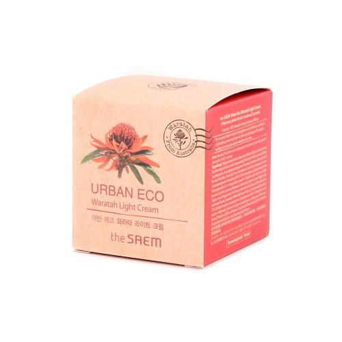 Крем-гель для лица легкий The Saem Urban Eco Waratah Light Cream, 60 мл