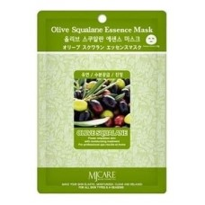 Маска тканевая олива Olive Squalane Essence Mask, 23 гр.