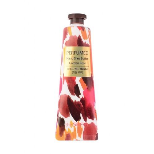Крем-масло для рук The Saem Perfumed Hand Shea Butter Garden Rose, 30 мл