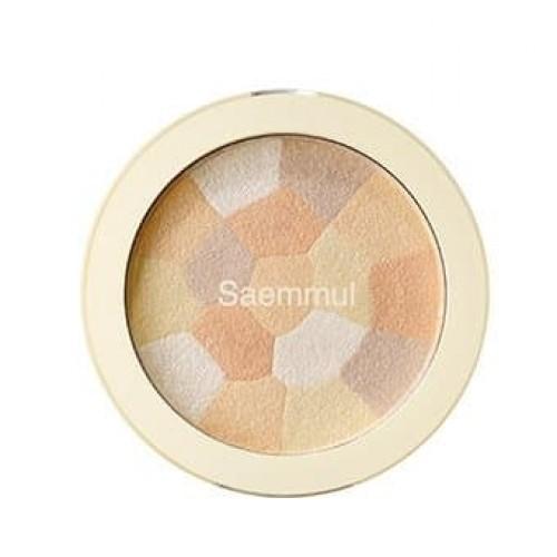 Хайлайтер минеральный The Saem Saemmul Luminous Multi Highlighter Gold Beige, 8 гр.