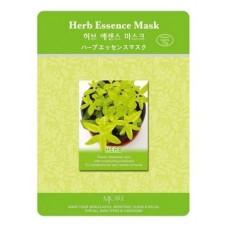 Тканевая маска MJ Care Herb Essence Mask для лица экстракты трав, 23 гр.