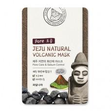Маска для лица очищающая поры Jeju Natural Volcanic Mask Pore Care & Sebum Control, 20 мл