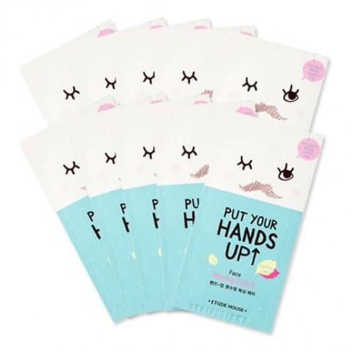 Патчи восковые Etude House Put Your Hands Up Face Waxing Patch 10 sheets, 10.шт.