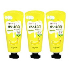 Набор кремов для рук банановый kwailnara banana milk hand cream set, 3 шт. по 60 гр.