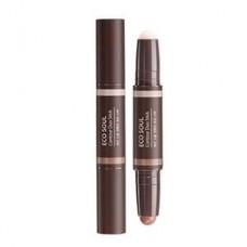 Стик для контурного макияжа The Saem Eco Soul Contour Duo Stick, 2 шт. по 1,9 гр.