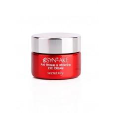 Крем для глаз Secret Key Syn-Ake Anti Wrinkle & Whitening Eye Cream с пептидом змеиного яда, 15 мл.