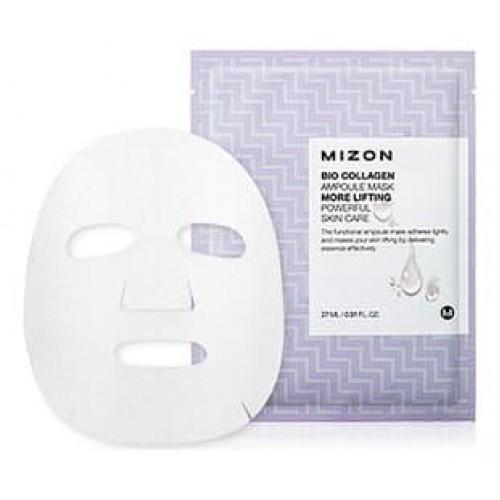 Тканевая маска для лица Mizon Bio Collagen Ampoule Mask с коллагеном, 27 мл