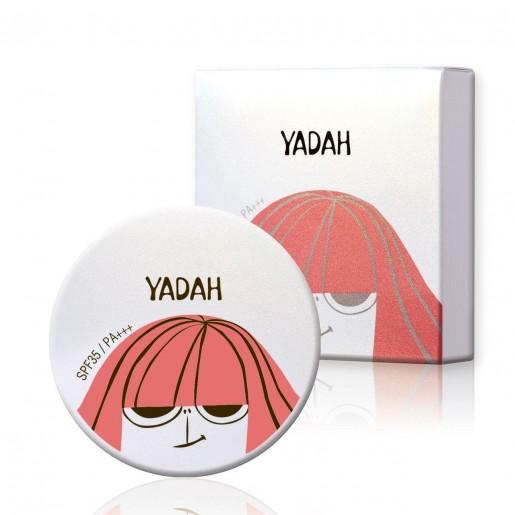 Компактная пудра Yadah Air Powder Pact Natural Beige, 9 гр.