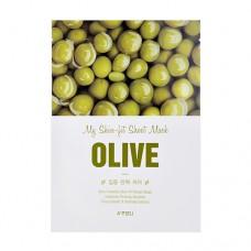 Тканевая маска для лица  A'Pieu My Skin-Fit Sheet Mask Olive с экстрактом оливы, 25 мл
