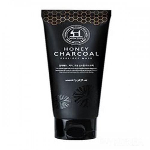 Маска-пленка для лица Moksha Honey Charcoal Peel-off Mask, 100 мл