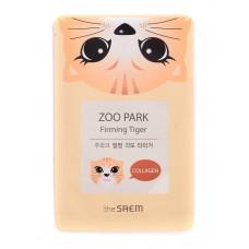 Маска для лица укрепляющая The Saem ZOO PARK Firming Tiger Mask, 25 мл