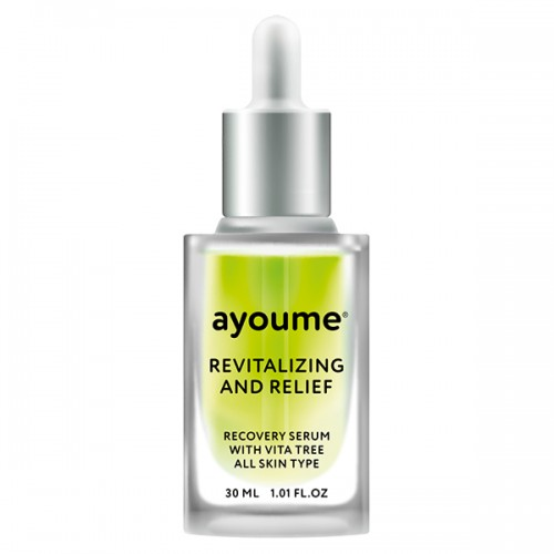Восстанавливающая сыворотка для лица AYOUME Vita Tree Revitalizing-&-Relief Serum, 30 мл