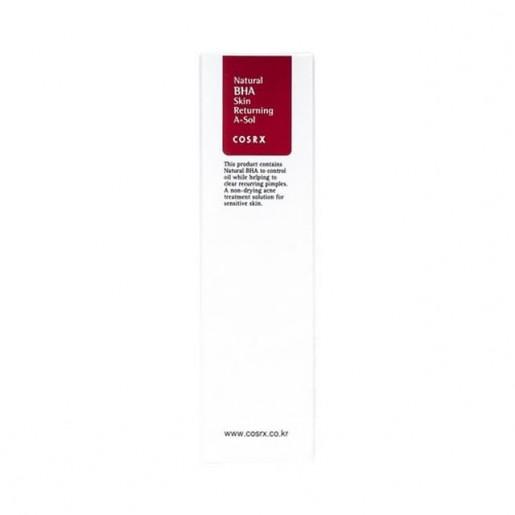 Тонер для лица COSRX Natural BHA Skin Returning A-Sol с BHA кислотами, 100 мл