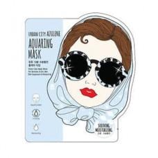 Тканевая маска для лица Baviphat Urban City Azulene Aquaing Mask Soothing & Moisturizing, 25 гр.