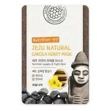 Маска для лица питательная Jeju Nature's Canola Honey Mask, 20 мл