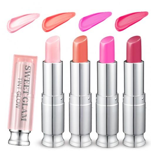 Тинт-бальзам для губ Secret Key Sweet Glam Tint Glow Baby Pink, 3,5 гр.