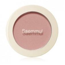 Румяна The Saem Saemmul Single Blusher CR01 Naked Peach, 5 гр.