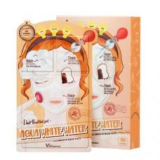 Увлажняющая трех-шаговая маска для лица Elizavecca 3-step aqua white water mask pack, 25 мл
