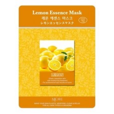 Тканевая маска для лица лимон Lemon Essence Mask, 23 гр.