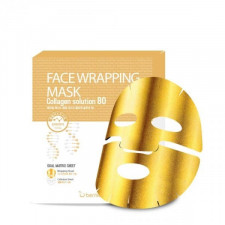 Гелевая маска для лица Berrisom Face Wrapping Mask Collagen Solution 80, 27 гр.