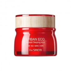 Маска для лица ночная The Saem Urban Eco Waratah Sleeping Mask с экстрактом телопеи, 80 мл