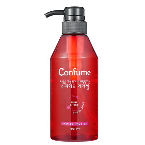 Гель для укладки волос Welcos Confume Super Hard Hair Gel, 400 мл