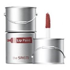 Тинт-помада для губ The Saem Lip Paint 05 Mauveglow, 6,5 мл.