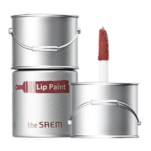 Тинт-помада для губ The Saem Lip Paint 05 Mauveglow, 6,5 мл