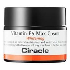 Осветляющий крем для лица Ciracle Vitamin E5 Max Cream Whitening, 50 мл