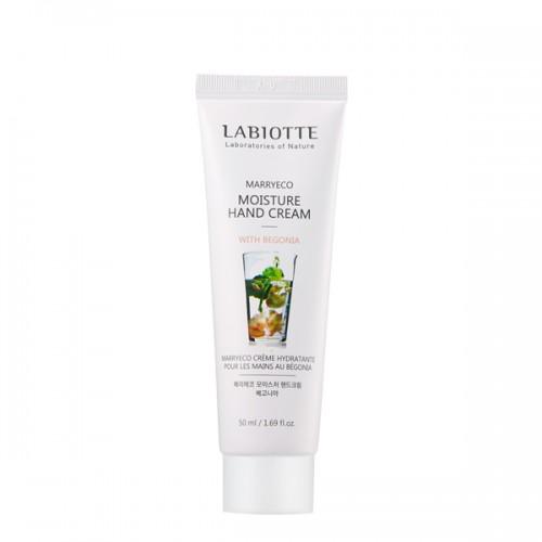 Крем для рук Labiotte Marryeco Moisture Hand Cream with Begonia с экстрактом бегонии, 50 мл